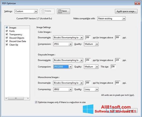 Screenshot Adobe Acrobat Pro DC untuk Windows 8.1