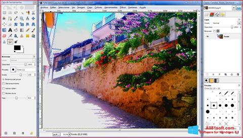 Screenshot GIMP untuk Windows 8.1
