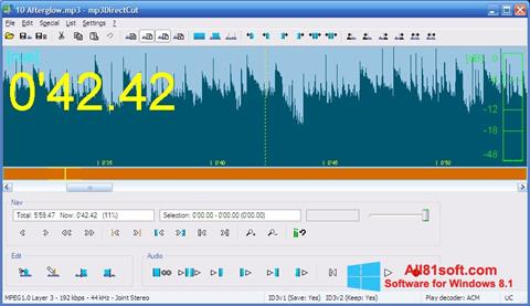 Screenshot mp3DirectCut untuk Windows 8.1