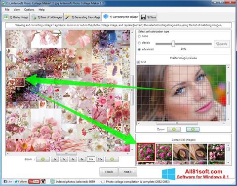 Screenshot Photo Collage Maker untuk Windows 8.1