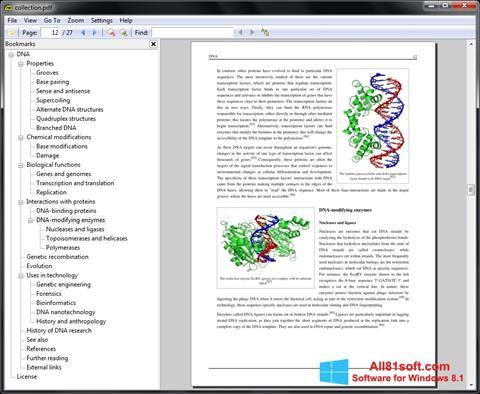 Screenshot Sumatra PDF untuk Windows 8.1