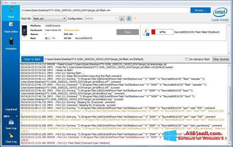 Screenshot FlashBoot untuk Windows 8.1
