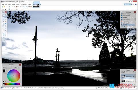 Screenshot Paint.NET untuk Windows 8.1