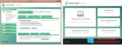 Screenshot Adguard untuk Windows 8.1