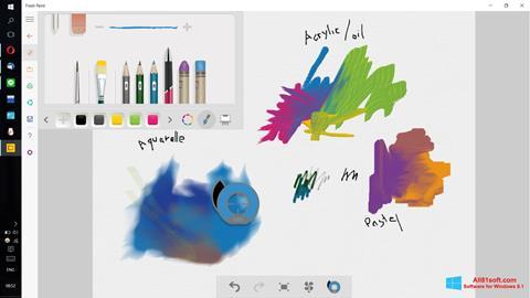 Screenshot Fresh Paint untuk Windows 8.1