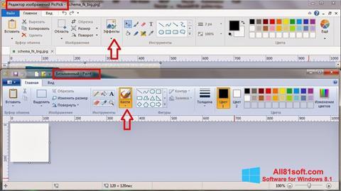 Screenshot PicPick untuk Windows 8.1