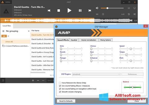 Screenshot AIMP untuk Windows 8.1