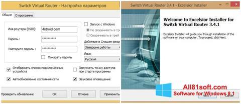 Screenshot Switch Virtual Router untuk Windows 8.1