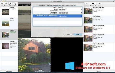 Screenshot IP Camera Viewer untuk Windows 8.1