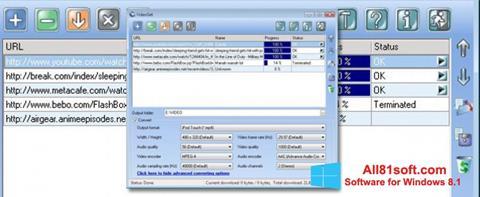 Screenshot VideoGet untuk Windows 8.1