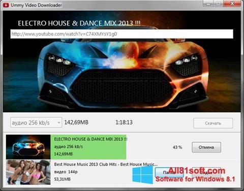 Screenshot Ummy Video Downloader untuk Windows 8.1